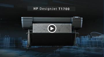 HP DesignJet T1700 video