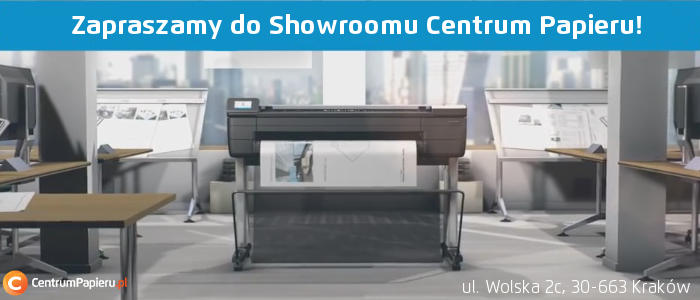 HP T830 Showroom Centrum Papieru