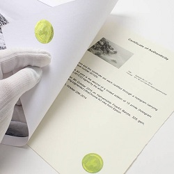 Certyfikat Hahnemuhle
