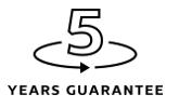 5 lat gwarancji!
